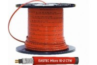 Саморегулирующийся греющий кабель EASTEC MICRO 10 - CTW, SRL 10-2CR M=10W c пищевой оболочкой