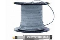 Саморегулирующийся греющий кабель EASTEC SRL 16-2 M=16W,  без экранирующей оплетки
