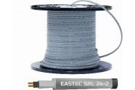 Саморегулирующийся греющий кабель EASTEC SRL 24-2 M=24W,  без экранирующей оплетки