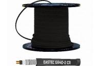 Саморегулирующийся греющий кабель EASTEC GR 40-2 CR, M=40W,  с УФ защитой