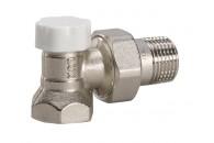 """Клапан регулирующий угловой 1/2"""" Luxor easy DS 122 для стальных труб"""