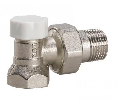 """Клапан регулирующий угловой 3/4"""" Luxor easy DS 122 для стальных труб"""