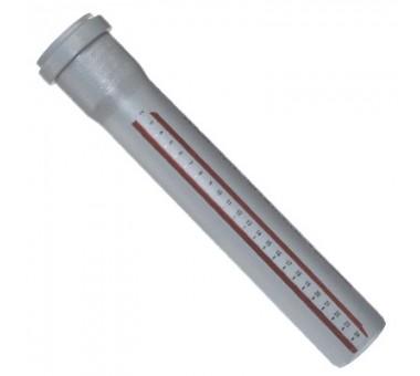 Труба канализационная НТЕМ D-110 L-1000 (OST)