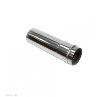 Удлиннитель дымохода коаксиальный 0,5м. D75/100мм