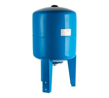 Мембранный расширительный бак для систем водоснабжения с опорными стойками 80 л.
